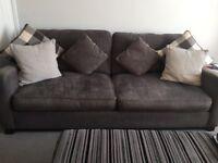 Three and four seater sofa