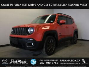 2016 Jeep Renegade 75th Anniversary 4WD - Bluetooth, Backup Cam,
