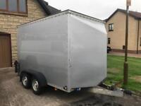Tow a van trailer