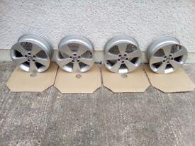 Set of 4 genuine Vauxhall Mokka/Mokka X 17'' alloy rims