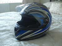 Airoh Motorbike Crash Helmet.