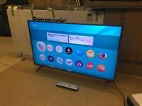 "Panasonic 40"" 4k ultraHD smart Tv Warranty Free Delivery Boxed"