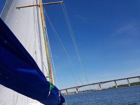 Tucker 25 sailing boat