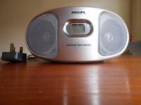 Philips CD Soundmachine with FM/MW Radio and Dynamic Bass Boost