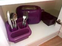 Kitchen items purple