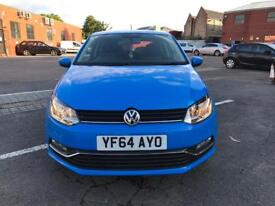 VW Polo Tsi bluemotion 2014 auto 3 doors top condition