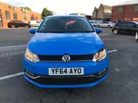 VW Polo Tsi bluemotion 2014 auto 3 doors top condition