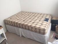 Double Bed and Double Mattress