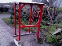 massey rollbar with roof for 135/35, very well made