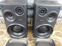 Technics 3 way hifi speakers