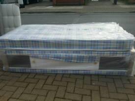 BRAND NEW SINGLE BED SET WITH SLIDESTORE FREE DELIVERY