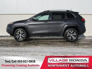 2016 Jeep Cherokee Trailhawk 4x4   One Owner  