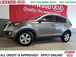 2014 Kia Sportage LX - BLUETOOTH, HEATED SEATS, AWD