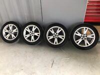 Audi A4 alloy wheels 17inch