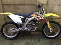 Suzuki rmz 250 motocross yzf crf kxf ktm