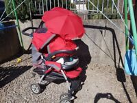 Chicco pushchair & Car Seat - In good condition