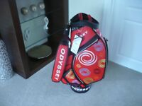 GOLF BAG - 2018 ODYSSEY / CALLAWAY STAFF TOUR BAG LTD EDITION (BRAND NEW WITH TAGS)