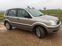 EXCELLENT FORD FUSION 1.4 MANUAL - SERVICE HISTORY AND LONG MOT (no advisories)