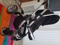 Pram Push Chair icandy Peach 2 Black