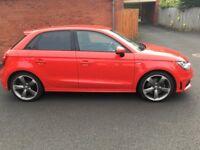 Audi A1 S Line Black Edition, Sat Nav, 5 Door