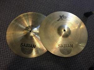 "Sabian Hi Hats XS20 14"" usagées/used"