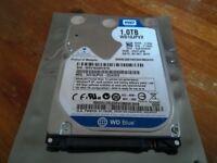 WD Western Digital 1Tb ( 1000Gb ) Sata 2.5 inch Laptop Hard Disk Drive