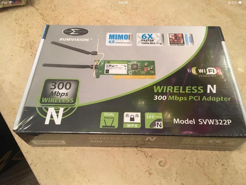 Wireless pci card