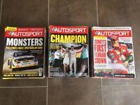 Autosport magazines 2016 - 51 issues