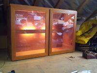 Tapley 33 illuminated display cabinet