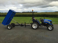 New Solis 1.5T Tipping Trailer