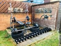 Complete outdoor gym