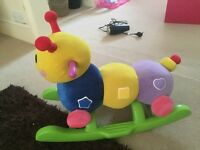 Children's rocking caterpillar
