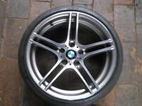 BMW 313 Alloy Wheels 19 inch – Bridge Stone Potenza Run Flat Tyres