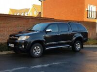 Toyota Hilux Invincible 3.0 D4D Double Cab (2007/56) + SAT NAV + LEATHER + REAR CANOPY + 1 OWNER+FSH