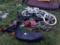 Various Honda Motorcycle Parts