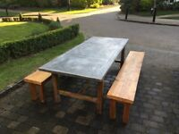 Dining Table and Benches