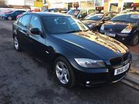 BMW 3 Series E90 320 D EFFICIENT DYNAMICS 2.0 DIESEL (black) 2011