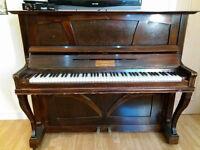 Ramsperger & Co. Stuttgart vintage german piano