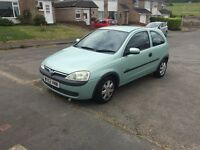 52 Vauxhall corsa 1,2 very long mot service history low tax low insurance £495