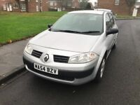 CAR SWAP WANTED I have a 2004 Renault megane low miles 77k 7 month mot