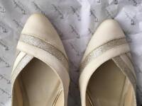 Bridal shoes - Rainbow club Mila - size 6 U.K.