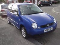 BARGAIN,Immaculately clean 2001 Lupo, Full 12 months Mot,No adviseries, Lady owner last nine years