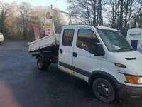 Iveco tipper truck only 50000 miles