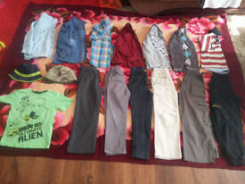 46 boys clothes size 6-7 in very good condition.