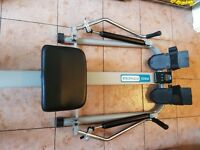 Rowing Machine Pro Fitness Dual Handled Hydraulic Rowing Machine