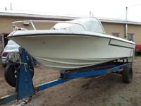 16' Cutter with 120hp Mercruiser