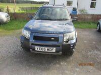 2005 Land Rover Freelander HSE 1.8. 12 months MOT. £2,750 ONO