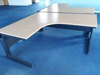 FREE office craft desks tables 1, 2, or 3 available for collection
