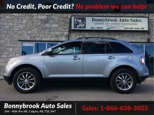 2007 Ford Edge SEL AWD DVD LEATHER HEATED SEATS
