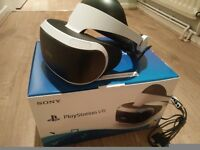 Playstation VR as new, with camera